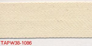 TAPW38-4931 38mm Cream C406 Polyester (100mts)